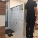 収納たくさん!IKEAおしゃれ収納棚