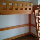 311 木製ロフトベッド 現物引き渡し 要ドライバー・六角