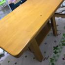 カントリー風ダイニングテーブル