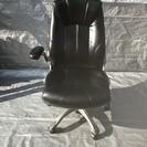 オフィスチェアー 椅子 回転 事務椅子 肘掛付き 合皮 中古 訳あり