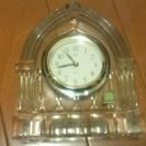 クリスタル時計