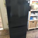 冷蔵庫単身用ブラック