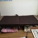 電動折り畳み式ベッド・シングル コマ付き