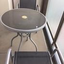 テラス用テーブルセット・ベランダ用テーブル&チェアーセット・ガーデ...