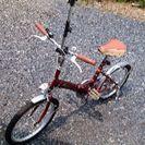 ★商談中★20インチ 折り畳み自転車