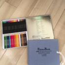 未使用 クレヨン色鉛筆セットとスケッチブック