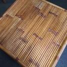[アジアン・バリ風バンブー竹テーブル]⁑リサイクルショップヘルプ