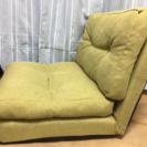 緑ソファベッド
