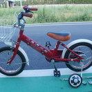 子供用自転車12インチ補助輪付属
