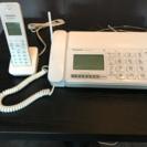 パナソニック デジタルコードレスFAX KX-PD304DL-W