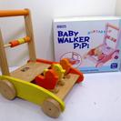 BABY WALKER PiPi ニチガン 手押し車 箱付き 木製...