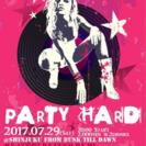 ロックDJイベント「PARTY HARD」