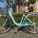 自転車 ブルー 26インチ
