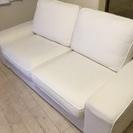 IKEA 2人がけソファ KIVIK ホワイト
