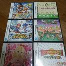 任天堂 DSゲームソフト9枚+本体+ゲームの空ケース3枚+DSソフ...