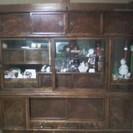 飾り棚 茶箪笥 リビングボード