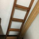 2段ベッドの階段