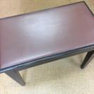 中古ピアノ椅子(収納付)
