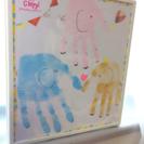 500円から参加可😄赤ちゃんとお子さまの今を残す❤️手形足形アート体験