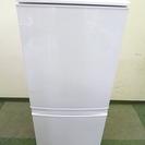 SHARP シャープ 137L 2ドア 冷凍冷蔵庫 SJ-14X ...