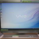 大画面20.1型ワイドデスクトップパソコン SONY VAIO V...