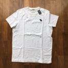 アバクロ Tシャツ 白 メンズ XLサイズ 新品未使用
