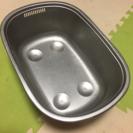 【お値引き。中古】小判型 洗い桶 (足付)