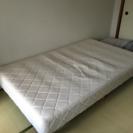 セミダブル マットレスベッド