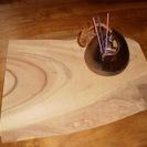 香炉と一枚板