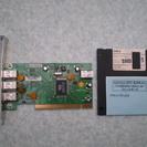 USBボード BUFFALO インターフェースボード IFC-ILP4