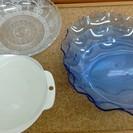 未使用品 プラスチック 皿 涼しい 夏 そうめん レンジ皿 セット...