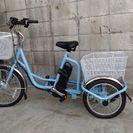 ミムゴの電動アシスト付3輪自転車です