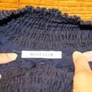 【USED(古着)】ウェストリボン付きショートパンツ(紺)SCOT CLUB − 東京都