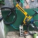 ハマーの自転車です