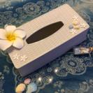 貝殻 ティッシュボックス