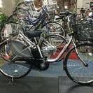 パナソニック電動自転車 ビビDX 26インチ シルバー BE-EL...