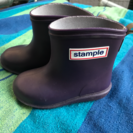 週末値下げ♪ スタンプル 長靴 13.0センチパープル stample
