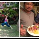 Yoga体験レッスン&お刺身パーティー