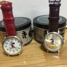 ミッキーペア腕時計(未使用)