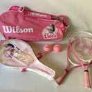 激レア! ウィルソン Wilson リカちゃん テニスラケット 2...