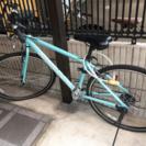 美品 クロスバイク