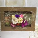 お花のウッドフレーム
