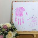 【残席1】おみやげ・お出かけの思い出作りにも♡手形・足形アートワー...