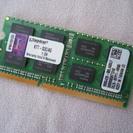 メモリー 4GB (ノートPC用)