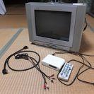 15インチテレビ デジタルチューナー付き