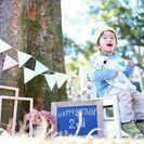 【日当3万円も可】スケジュール自由 週末カメラマン 公園での家族撮影