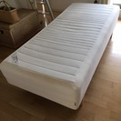 IKEA 脚付きマットレス(ベッド)