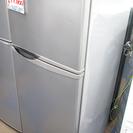 シャープ SHARP 冷蔵庫 トップフリーザー 118L シルバー...