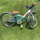 子供自転車  24インチ  レストア済み
