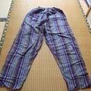 綿100%久留米特産 ズボン
